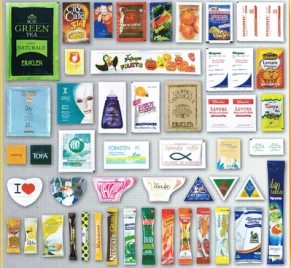 Packaging machines for flat sachets and Sticks